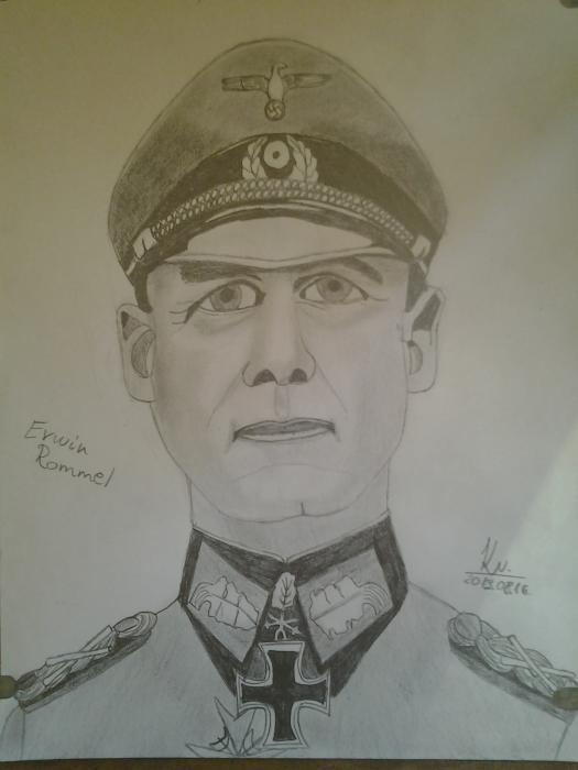 Erwin Rommel by Vanus94